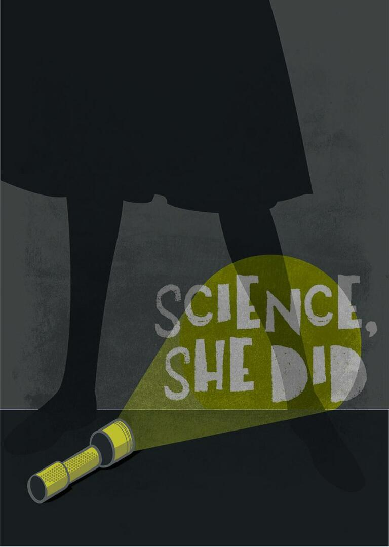 Science she did!